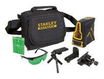 Stanley FCL-G FatMax Kruislijnlaser in koffer - 20m - groen - FMHT1-77348