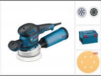 Bosch GEX 125-150 AVE Excentrische schuurmachine incl. 50 schuurvellen in L-boxx - 400W  - 060137B103