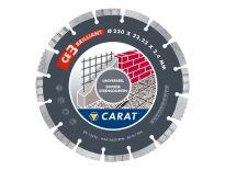 Carat CED1253000 CE Brilliant Diamantdoorslijpschijf - 125 x 22,23mm - universeel