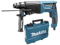 Makita HR2600 SDS-plus Boorhamer in koffer - 800W - 2.4J