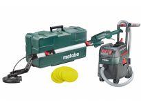 Metabo 690886000 Langnek schuurmachine 225mm (LSV 5-225) & alleszuiger / bouwstofzuiger combiset - 1400W - L-klasse - 35L