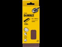 DeWalt DT3664 Schuurband - K150 - 64 x 356mm (3st) - DT3664-QZ