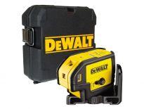 DeWalt DW085K zelfnivellerende puntlijnlaser in koffer - 5 lijnen - DW085K-XJ