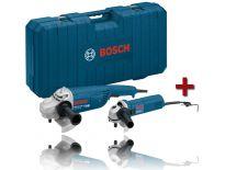 Bosch 0615990FZ0 Haakse slijper set (GWS 22-230 JH + GWS 1000) in koffer - 2200W / 1000W - 230mm / 125mm