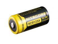 Nitecore NL166 3.7v Li-Ion oplaadbare batterij 650mAh