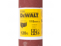 DeWalt DT3582 Schuurpapier rol - P120 - 5m - 115mm - DT3582-QZ