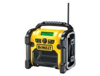 DeWalt DCR019 10.8-18V Li-Ion Accu bouwradio - netstroom & accu - DCR019-QW