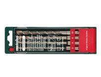 Metabo 625580000 4 delige SDS-plus betonboren set in cassette