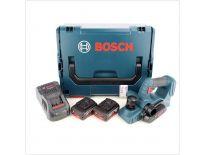 Bosch GHO 18 V-LI 18V Li-Ion accu schaafmachine set (2x 5.0Ah accu) in L-Boxx - 82mm - 1,6mm - 06015A0304