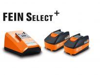 Fein 92604300030 18V Li-Ion accu starterset (2x 5,0Ah accu)