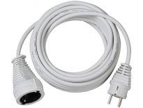 Brennenstuhl 1168460 Kwaliteits kunststof verlengsnoer wit - H05VV-F 3G1,5 - 10m