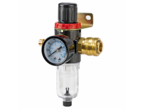 """Einhell 4134200 Filter + Drukregelaar - 1/4"""" buitendraad voor luchtcompressor"""
