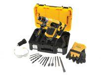 DeWalt D25414KT SDS-plus Combihamer incl. snelspanboorkop & accessoires in koffer - 1000W - 4,2J - D25414KT-QS