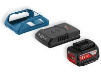 Bosch 1600A00C43 18V Li-Ion accu starterset (1x 4.0Ah) + lader - Wireless Charging - 1600A00C43