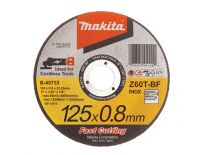 Makita B-45733 Doorslijpschijf voor rvs - 125mm - Z60T-BF (wtg bb)