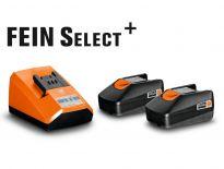Fein 92604300010 18V Li-Ion accu starterset (2x 2,0Ah accu)