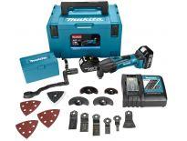 Makita DTM50RFJX3 18V Li-Ion accu multitool set (2x 3.0Ah accu) in Mbox + 42 delige accessoireset