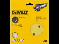 DeWalt DT3127 Schuurschijf - K240 - 150mm (10st) - DT3127-QZ
