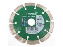 Hitachi 773071 Diamantdoorslijpschijf - 125 x 22,23mm - universeel