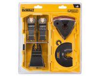 DeWALT DT20731 MultiTool zaagbladen & schuurpapier 8-dlg. Set - DT20731-QZ