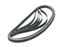 FERM EFA1003 8 delige Schuurbandset - K40 / 80 / 120 - 10 x 455mm