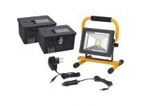 Brennenstuhl 1171260202 Mobiele chip-led-lamp met batterijvoeding IP54 - 20W