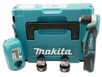 Makita DA331DWJ 10.8V Li-Ion accu haakse boor-/schroefmachine set (2x 1.3Ah accu) in Mbox