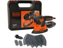 Black and Decker KA2500K Schuurmachine in koffer - 120W - KA2500K-QS