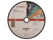 Bosch 2608602767 Doorslijpschijf - 230 x 22,23mm - Metaal / Non-ferrometaal / Steen / Kunststof