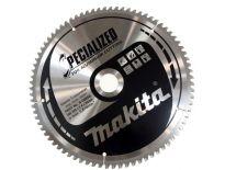 Makita B-09656 Specialized Cirkelzaagblad - 260 x 30 x 80T - Aluminium / Trespa / Kunststof