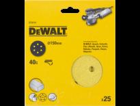 DeWalt DT3131 Schuurschijf - K40 - 150mm (25st) - DT3131-QZ