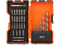 AEG 4932352249 35 delige HSS-G Metaalboor & bitset in koffer