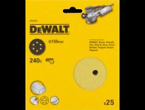 DeWalt DT3137 Schuurschijf - K240 - 150mm (25st) - DT3137-QZ