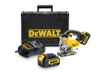DeWalt DCS331M2 18V Li-Ion Accu decoupeerzaag set (2x 4.0Ah accu) in koffer - D-greep - variabel - DCS331M2-QW