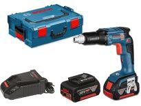 Bosch GSR 18 V-EC TE 18V Li-Ion accu gipsschroefmachine set (2x 4.0Ah accu) in L-Boxx - koolborstelloos - 06019C8001