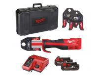 Milwaukee M18 BLHPT-202C M-SET 18V Li-Ion accu perstang set (2x 2.0Ah accu) in koffer - koolborstelloos - 4933451133