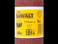 DeWalt DT3580 Schuurpapier rol - P60 - 5m - 115mm - DT3580-QZ