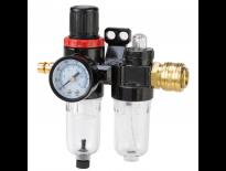 """Einhell 4135001 Filter-/smeercombi voor luchtcompressor - 1/4"""" buitendraad"""