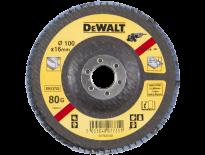 DeWalt DT3274 Lamellen schuurschijf gebogen - K80 - 100mm - DT3274-QZ
