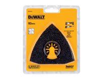 DeWalt DT20719 universeel multitool zaagblad voor tegelbewerking - 93x93x93mm - DT20719-QZ