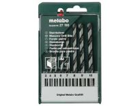 Metabo 627193000 8 delige Steenboren set in cassette