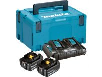 Makita 197629-2 starterset 18V Li-Ion 2x 5,0Ah + duolader in Mbox - BL1850 - DC18RD