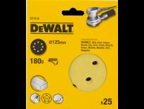DeWalt DT3116 Schuurschijf - K180 - 125mm (25st) - DT3116-QZ