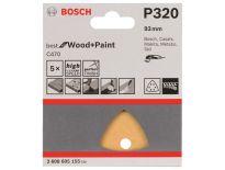 Bosch 2608605155 Schuurvel C470 - Delta - K320 - 93mm (5st)