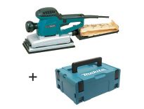 Makita BO4900VJ Vlakschuurmachine in Mbox - 330W - 115x232mm - variabel