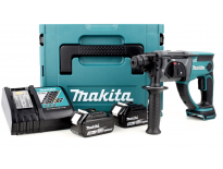 Makita DHR202RFJ 18V Li-Ion Accu SDS-plus combihamer set (2x 3.0Ah accu) in Mbox - 2J