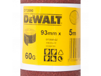DeWalt DT3590 Schuurpapier rol - P60 - 5m - 93mm - DT3590-QZ