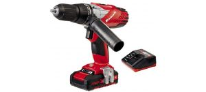 Einhell TE-CD 18-2 Li-I KIT 18V Li-Ion accu klopboor-/schroefmachine set (1x 1.5Ah accu) in koffer - 4513800