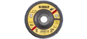 DeWalt DT3274 Gebogen lamellenschijf - K80 - 100mm - DT3274-QZ