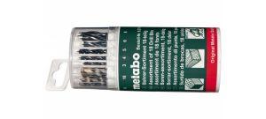 Metabo 627190000 18 delige borenset voor hout / metaal / steen in box